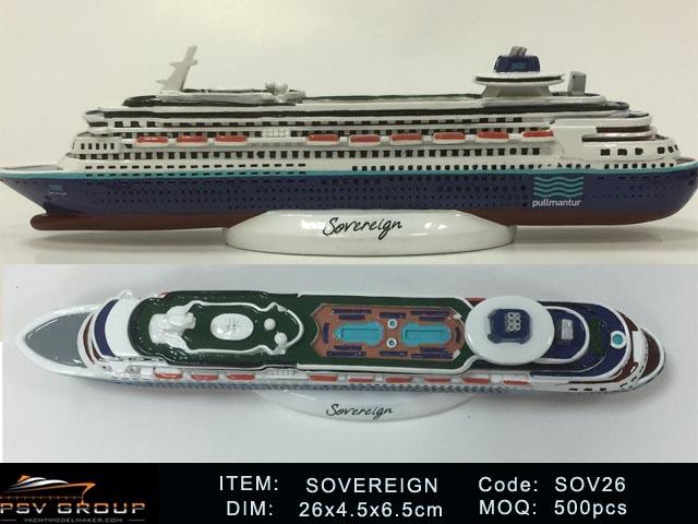 SOVEREIGN CRUISE SHIP MODEL PSV Group - Sovereign cruise ship